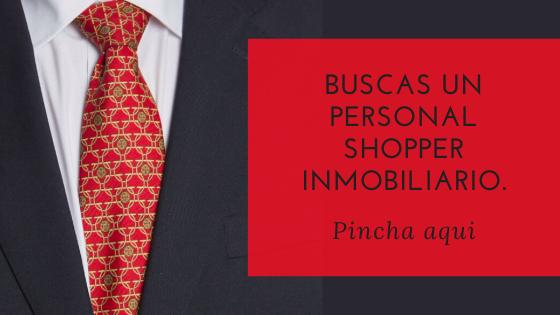 Buscas un Personal Shopper Inmobiliario botón que enlaza a una planilla de contacto